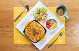 早午餐-南瓜馬鈴薯焗麵