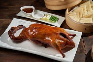 天成飯店集團 世貿國際會館 翠庭 明爐烤鴨三吃